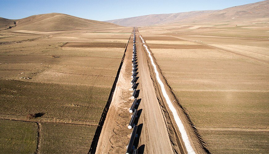 2017 – TANAP – Pipe Line Project