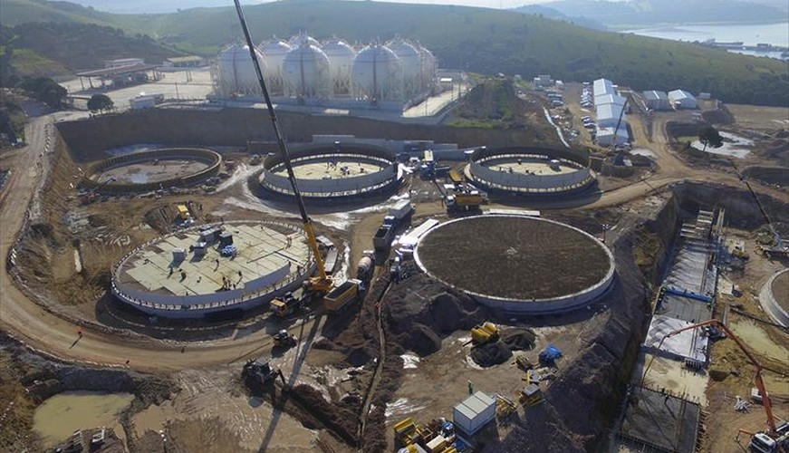 2018 - AOSTE Project - Aliağa Oil Terminal Expansion Project